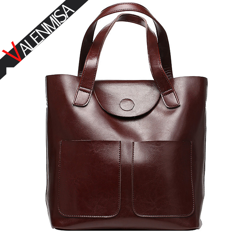 VALENMISA Bucket Bag Real Genuine Leather Shopping Tote Bags Famous Designer Brand Handbags Large Ladies Shoulder Bags For Women сумка через плечо famous designer brand genuine real leather tote bag 100