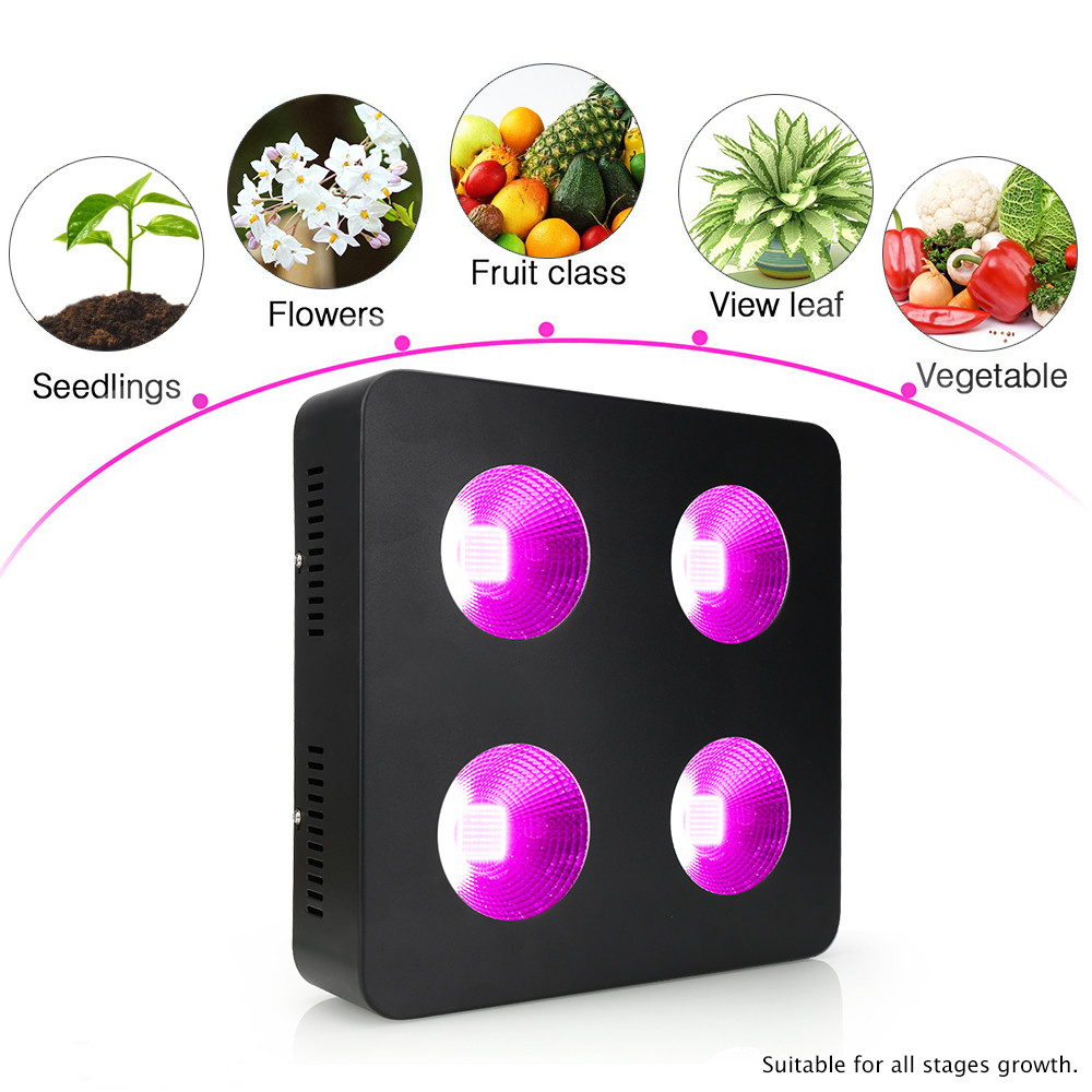1000W integrated COB Led Grow plant light Full Spectrum for grow tent greenhouse plants veges & hydroponic system led grow light