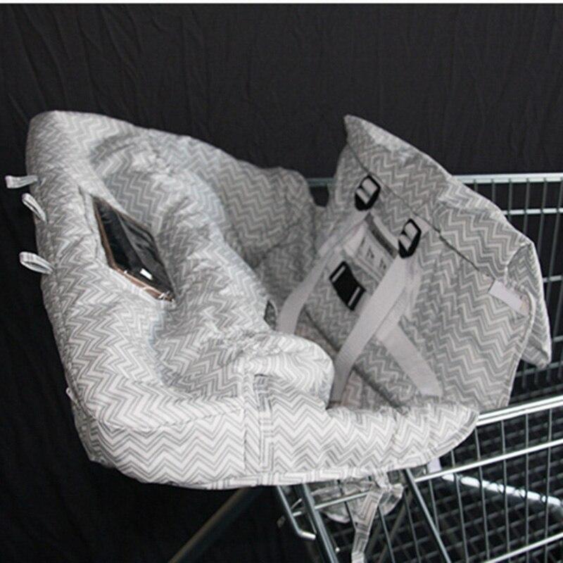 Многофункциональная детская подушка для перемещения ребенка милая детская магазинная Тележка для покупок Защитная Подушка безопасности легко переносить 7479