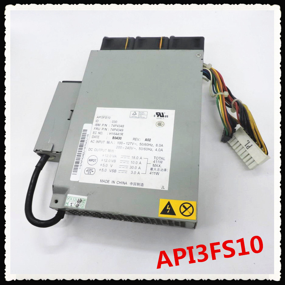 Quality 100%   power supply For X325 X326M 74P4349 74P4348 API3FS10 411W Fully tested.Quality 100%   power supply For X325 X326M 74P4349 74P4348 API3FS10 411W Fully tested.