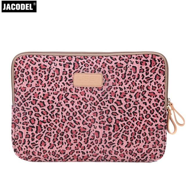 Jacodel Woman Laptop Bags 10 12 13 14 Computer Bag Sleeve Handbags Notebook Accessory For