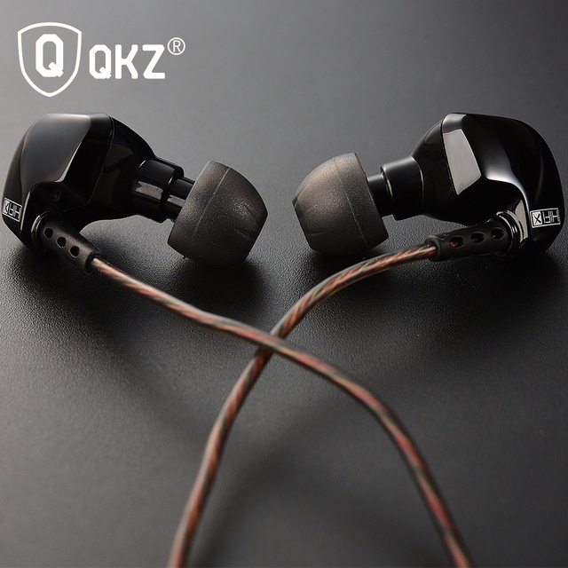 Original QKZ DM200 In Ear Earphones Original HIFI Headset Stereo Sport Earphone Super Bass Noise Canceling Hifi fone de ouvido