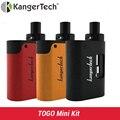 Original Kangertech TOGO Mini Starter Kit 1600mAh 3.8ml Tank with new symmetrical air flow design and 5 LED battery indicator