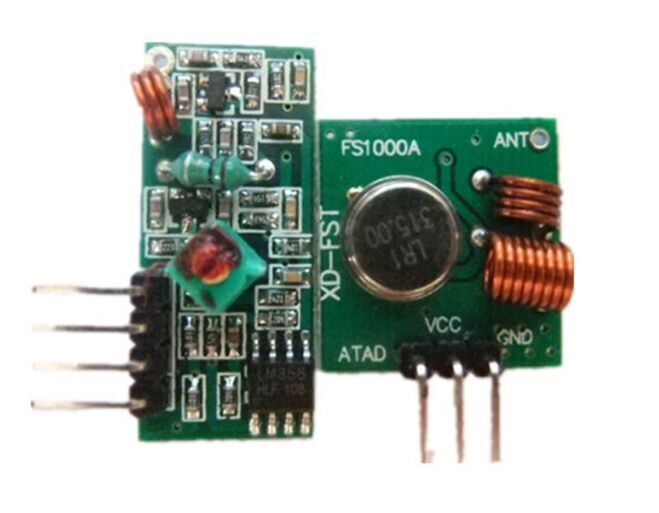 433Mhz RF Wireless transmitter module and receiver kit For Arduino
