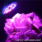 full spectrum led grow lights bulbs E27 14W For Hydroponics and Small Plants High Quality LED Grow light full spectrum