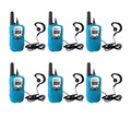 6pcs Mini Walkie Talkie Kids Radio Retevis RT-388 0.5W UHF 462-467MHz US Frequency Portable Two Way Radio Walkie-talkie A7027