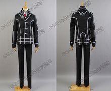 Vampire Knight Zero Kiryuu Black Uniform Black Jacket Coat Pants Shirt Anime Halloween Cosplay Costume For