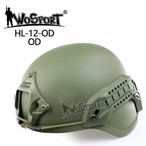 WoSporT Free shipping Tactical Emerson ACH MICH 2000 Military Helmet with NVG Mount and Side Rail for CS Combat Helmet high quality outdoor airframe style helmet airsoft paintball protective abs lightweight with nvg mount tactical military helmet