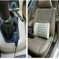 Caliente venta segura relajante muscular Lumbar masaje vértebra para Home Office asiento trasero del coche almohada de apoyo Lumbar amortiguador asientos para automóviles