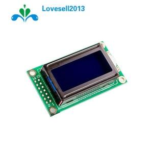 Модуль ЖК-дисплея 0802 LCD 8x2, 5 В LCM с синей подсветкой для Arduino