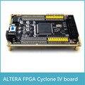 Frete Grátis ALTERA FPGA placa de núcleo placa de desenvolvimento ALTERA CYCLONE IV EP4CE TFT placa de vídeo
