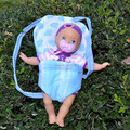 Doll clothes,doll accessories Baby Sling for baby dolls,size 35*20cm doll bed  girl's gift ,free shpping