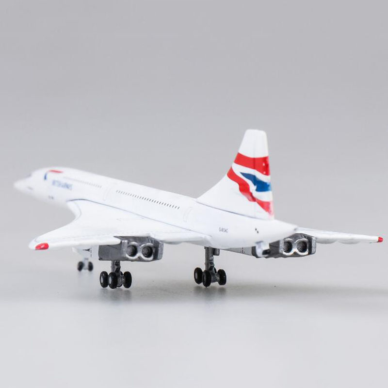 15CM 1:400 Concorde Air British 1976-2003 Airline Model Alloy Collectible Display Toy Airplane Model Collection Kids Children image