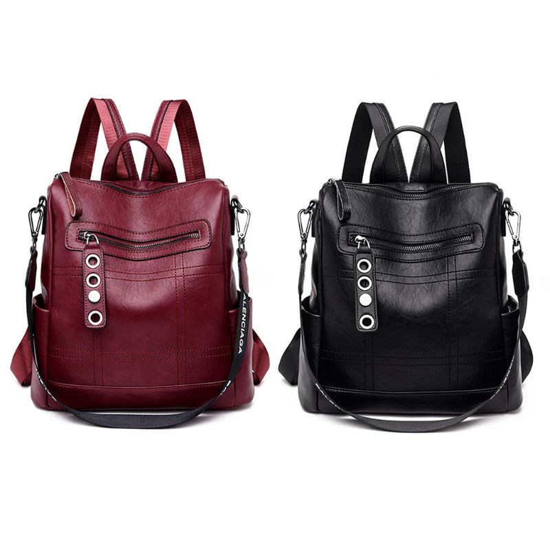 2019 New Fashion Fashion Women Bag Backpack Rucksack School Shoulder Bag Leather Casual bag2019 New Fashion Fashion Women Bag Backpack Rucksack School Shoulder Bag Leather Casual bag