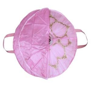 Image 3 - Black Professional Ballet Tutu Bag Rose Red Waterproof Oxford Foldable Soft Ballet Bags Ballet Tutu Case Package
