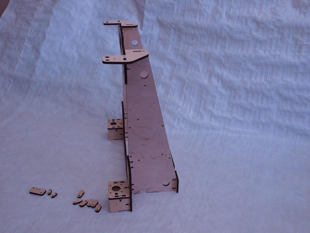 DIY Anet A8/Hesine M505/Tronxy 3D Drucker klon Rahmen kit Laser Cut ...