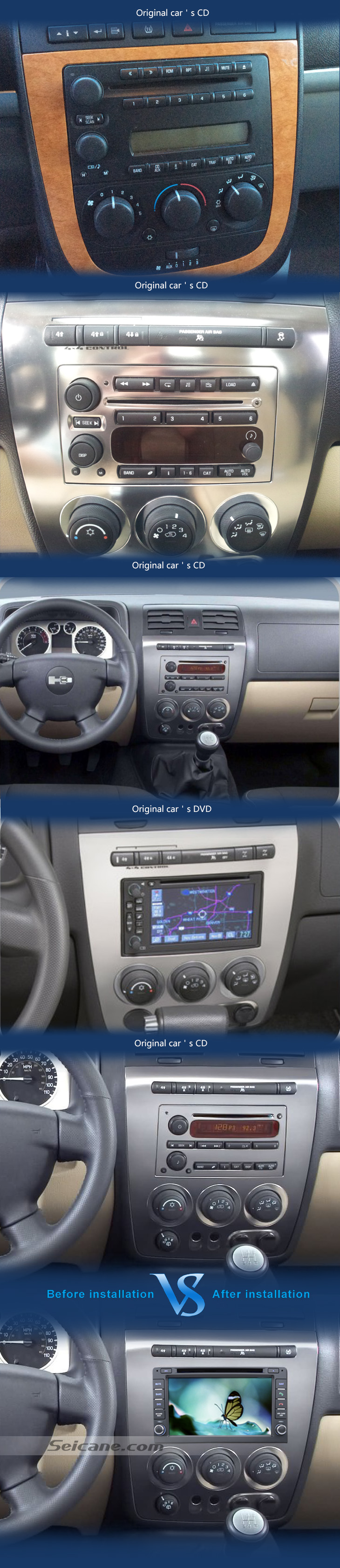 7 gps navigation system for hummer h3 2006 2009 3d tft lcd car aeproducttsubject publicscrutiny Images