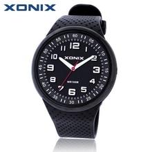 Xonix mode hommes montres Top marque de luxe montres de sport étanche 100 M Montre à Quartz de bain main plongée horloge Montre Homme