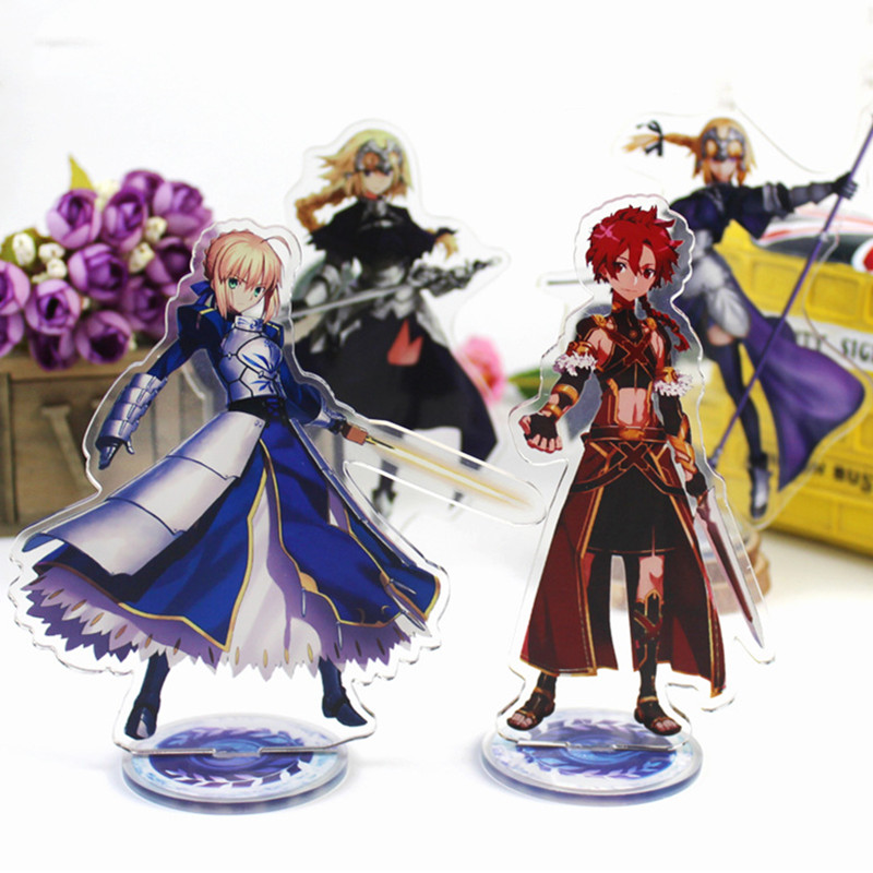 Anime Fate Grand Order Display Stand Figure Model Plate Holder Japanese Cartoon Figure FGO Go Acrylic Jewelry Christmas Gift