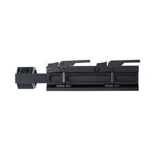 Image 5 - 25.4 30mm 퀵 릴리스 듀얼 링 스코프 마운트 전술 캔틸레버 빠른 분리 라이플 Picatinny Rail Airsoft Hunting Accessories