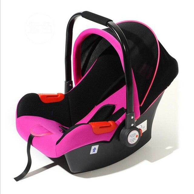 2017 Safe Neonatal Basket-Style Car Seat Infants Handle Basket Seat Newborn Babies Car Safety Seats Free Shipping