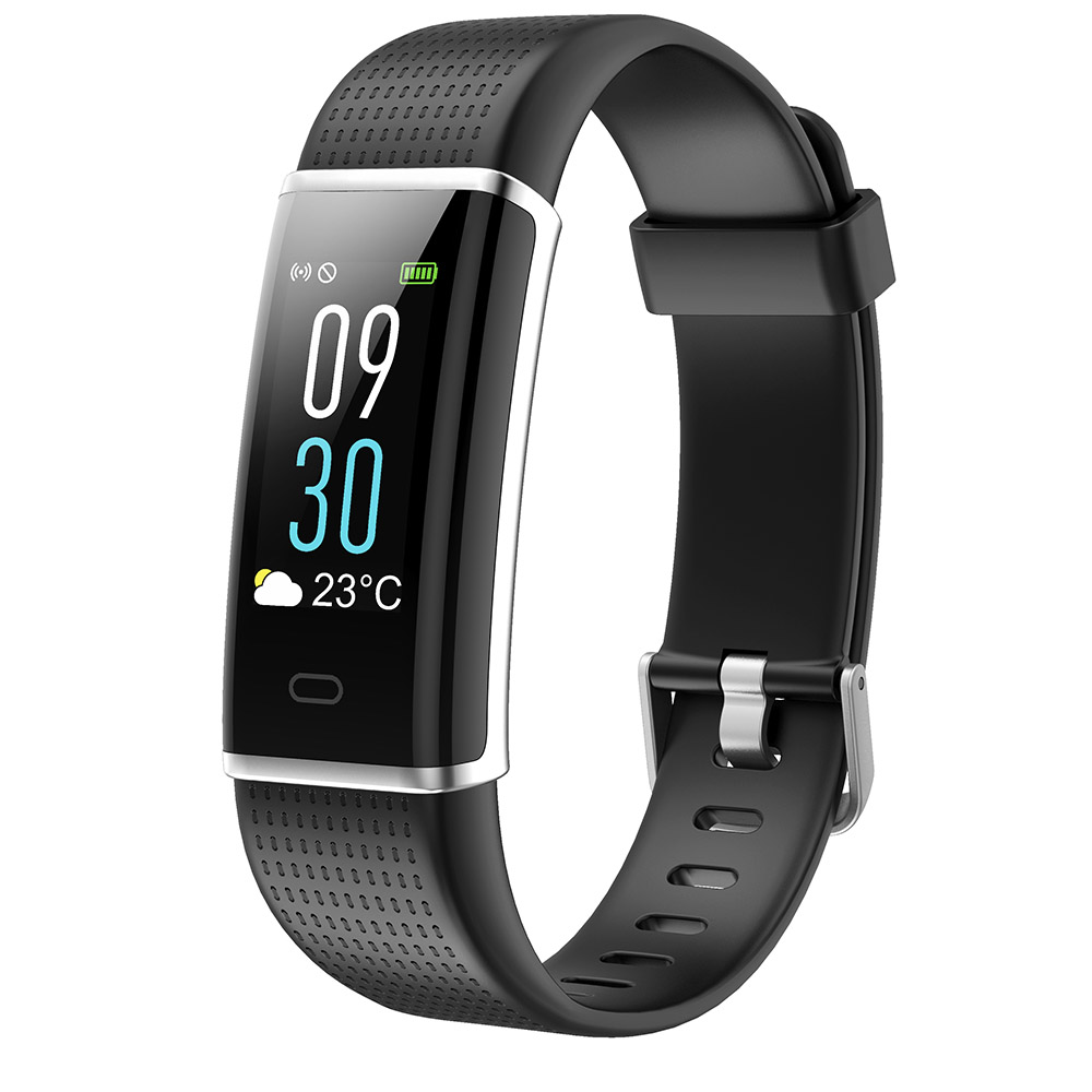 ID129 Plus Color Display Smart Wristband Band Sports Bracelet Heart Rate Activity Fitness Tracker for IOS Android PK Mi Band 2 - 2