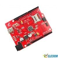 Crowduino M0 SD Board For Arduino UNO Micro Controller Board DIY Kit Free Shipping