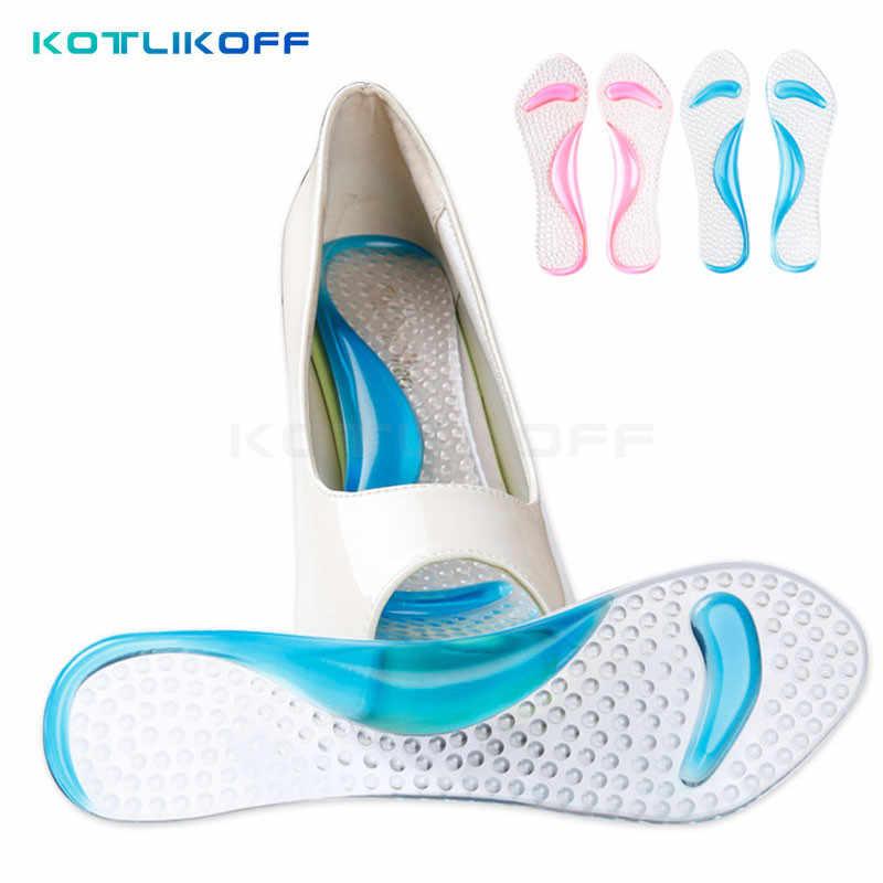 Kotlikoff Perawatan Kaki Gel 3/4 Wanita Sol dengan Dukungan Arch dan Bantal Orthotics dan Ortopedi Sepatu Hak Tinggi Pad dan sandal