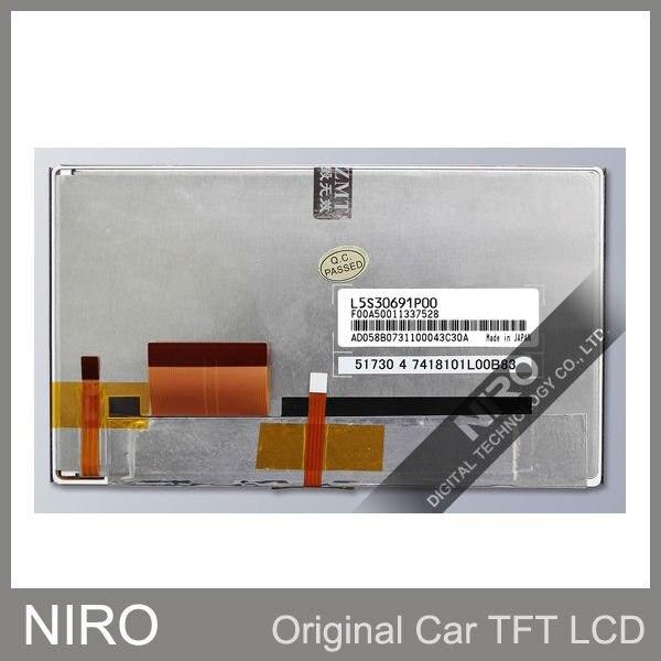 Niro DHL/EMS Новые оригинальные A+ Автомобильные TFT ЖК-мониторы от L5S30691P00 и сенсорный экран