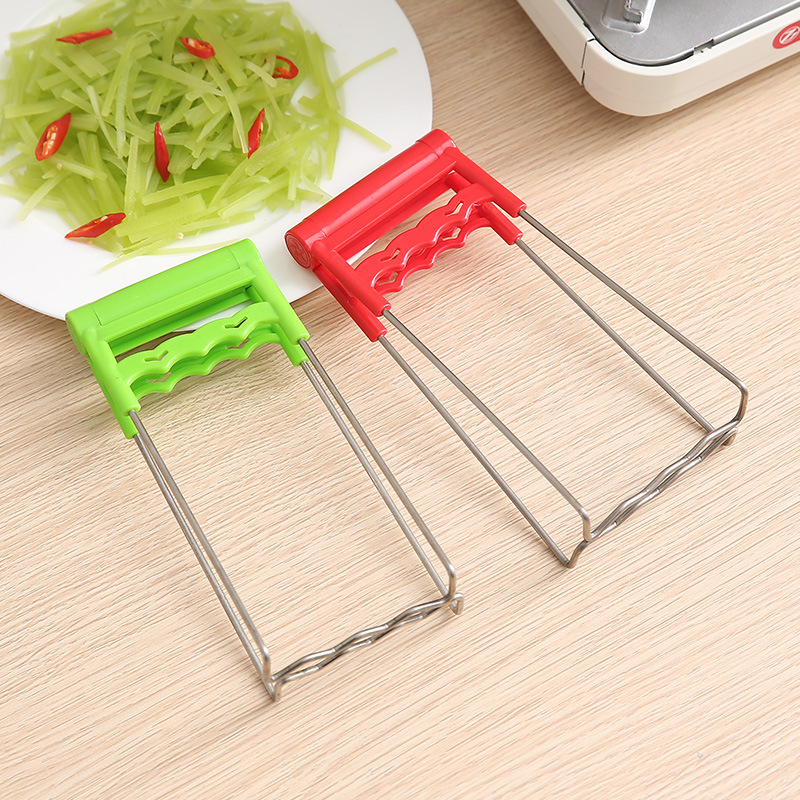 FOURETAW Hot Bowl Holder Dish Clamp Pot Pan Gripper Clip Hot Dish Plate Bowl Clip Retriever Tongs Silicone Handle Kitchen Tool in Spoon Rests Pot Clips from Home Garden