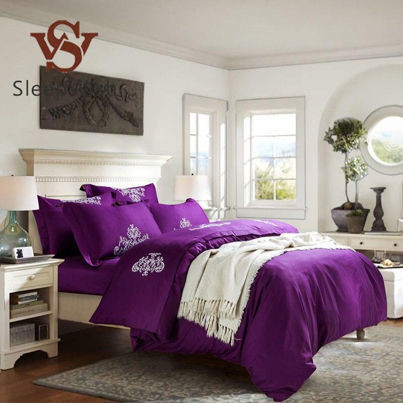 achetez en gros housse de couette violet en ligne des grossistes housse de couette violet. Black Bedroom Furniture Sets. Home Design Ideas