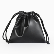 b58e9602d 5pcs/lot PU Leather Adjustable Jewelry Packing Drawstring Storage bag  Drawable Organza Pouch Christmas Wedding