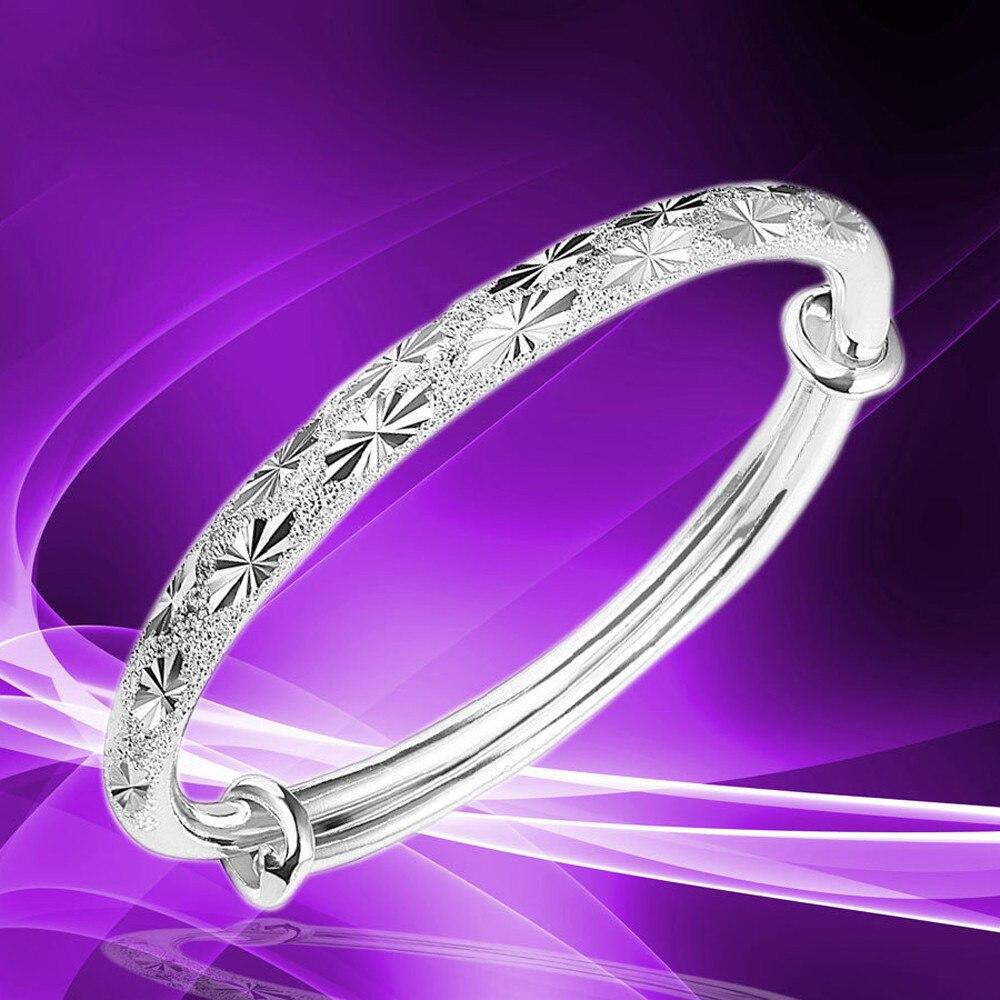 2019 Pandora Charm Bracelets For Women New Fashion Adjustable Bracelet Jewelry Silver Womens Charm Bangle Bracelet Gift
