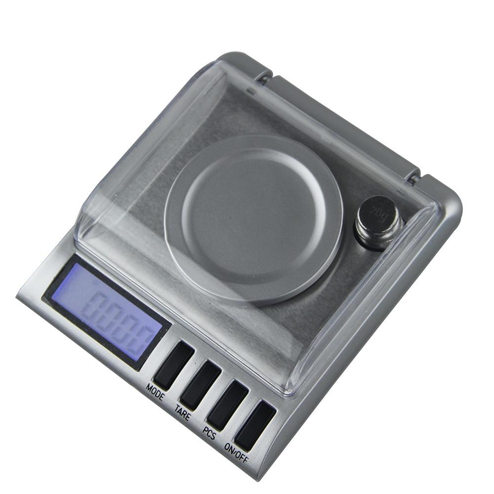 50g escala eletrônica gramas 0.001 balança de