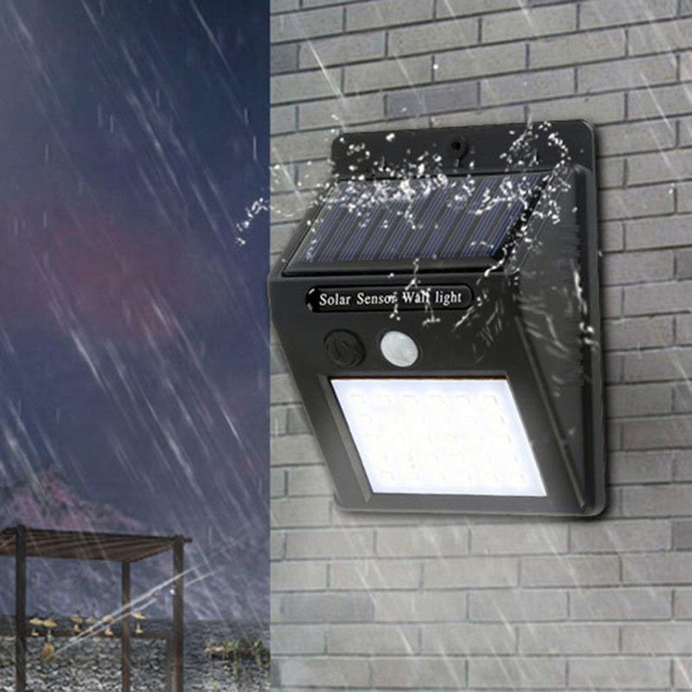 Солнечная Индукционная настенная лампа, Интеллектуальная Индукционная лампа для человеческого тела, наружная садовая настенная Подвесная лампа