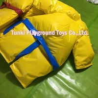 New Inflatble Costume for Adult Club Sumo Suit Color Full Body Costume Jumpsuit  Multicolor