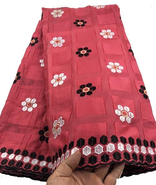 Tissu africain en dentelle sèche Voile suisse avec pierres dentelle de coton suisse haute qualité tissus en dentelle suisse pour robe de mariée CHYP5 (3)-in Dentelle from Maison & Animalerie    1