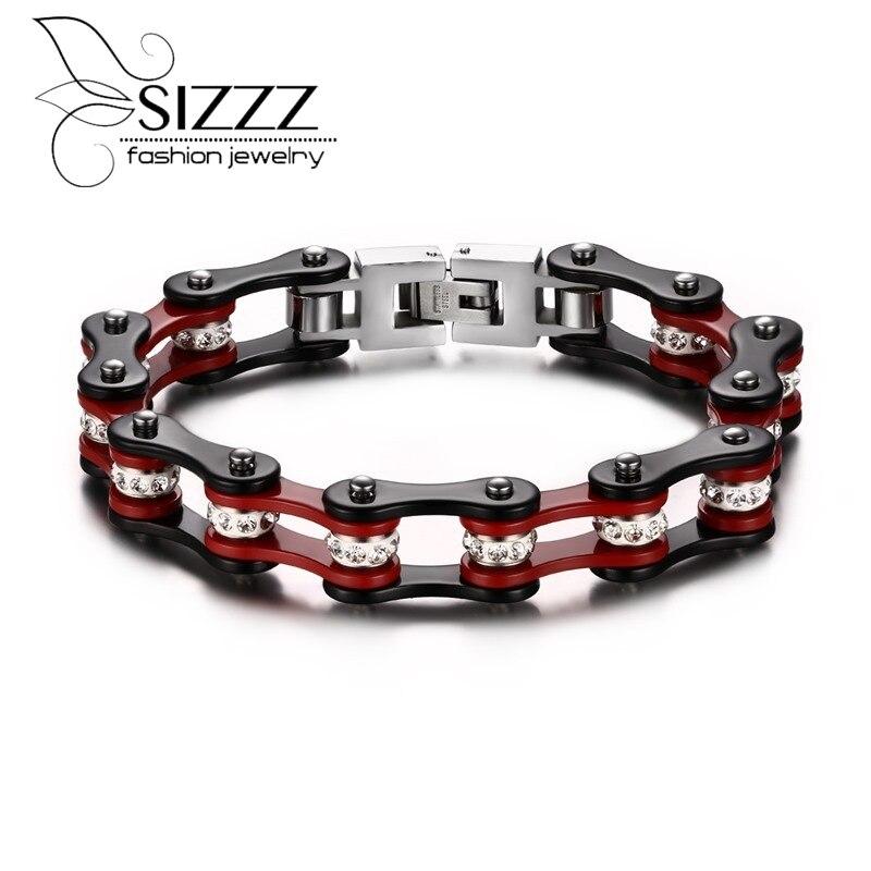 Con Cerradura Cuero Fetiche Bondage Collar de 40mm de ancho 50mm o anillo atrás y rojo