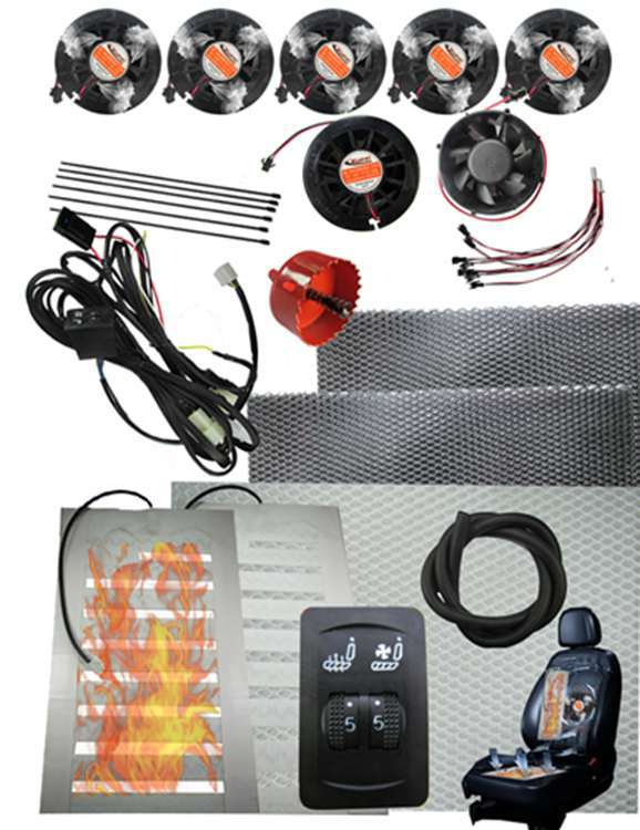 Comfortable Seat Ventilation System Warm Tool AC 12 V Gasoline Consumpt Car Heater In Automobiles Covers From