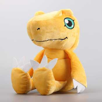 Big Size 35cm Gabumon & 33 cm Digimon Agumon Plush Dolls Stuffed Toys