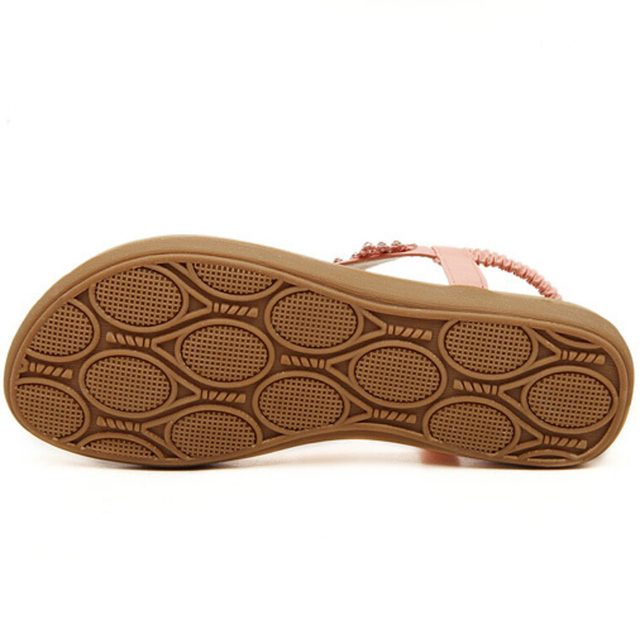 2017 Women Flat Sandals Bohemia Fashion Elegant Style For Summer