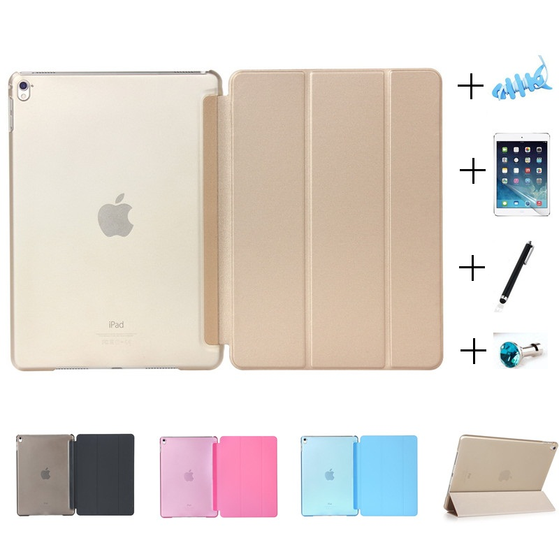 Ultra Slim Smart Magnetic Faux Leather Crystal Plastic Smart Case for New iPad 2017 2018 9.7inch Air 1 A1822 A1823 A1893 A1954Ultra Slim Smart Magnetic Faux Leather Crystal Plastic Smart Case for New iPad 2017 2018 9.7inch Air 1 A1822 A1823 A1893 A1954
