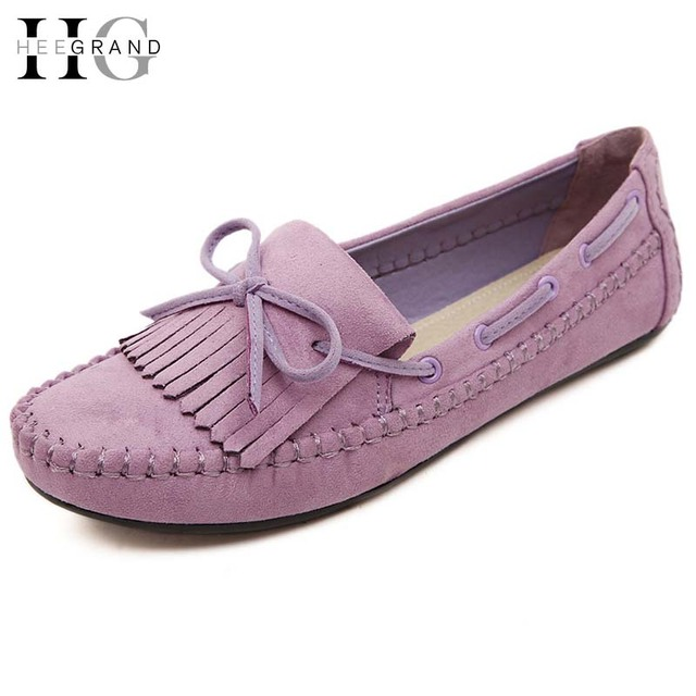 Flat Shoes Women 2016 Summer Ladies Slip On Creepers Causal Bowtie Genuine Leather Flats Sapatos Femininos Zapatos Mujer XWD3444