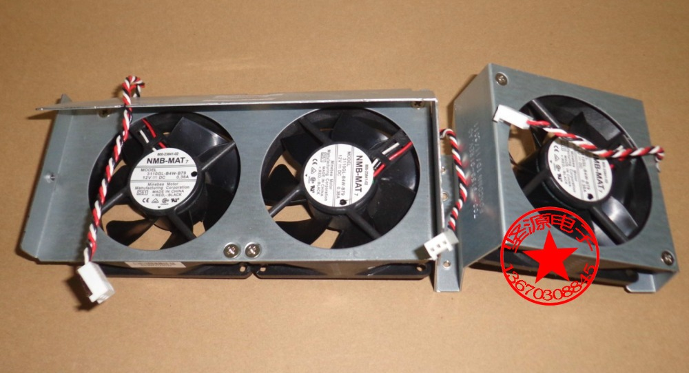 Original NMB 8025 8cm 80mm 3110KL 04W B79 for cisco 2851 2821 switch DC 12V 0.38A server inverter cooling fan