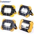 100 W Led Werk Licht 10000lm Super Heldere Draagbare Spotlight Oplaadbare voor Outdoor Camping Lampe Led Zaklamp door 18650