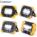 100W Led luz de trabajo | LM Super brillante reflector portátil recargable para Camping al aire libre Lampe Led linterna por 18650
