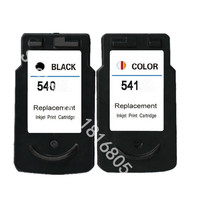1set Ink For Canon PG540 CL541 Black Color Ink Cartridges PG 540 CL 541 For Canon