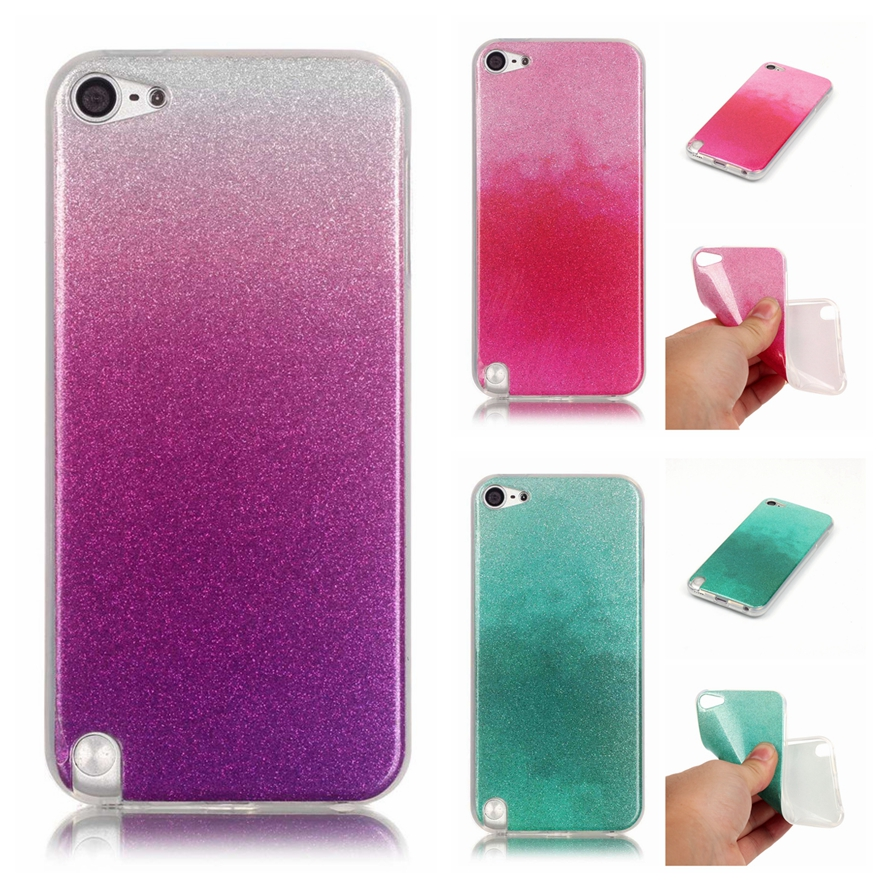 For coque ipod touch 5 case silicone glitter bling for Housse ipod touch 5