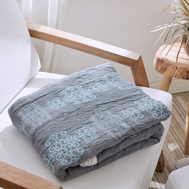 Home Decor Cotton Blankets For Beds Anti Pilling Soft Bed Linens Summer Quilt Single Double Twin Queen Size