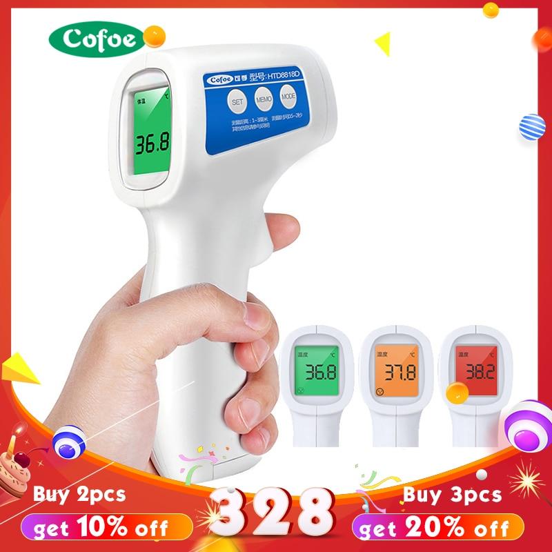 Cofoe frente sin contacto por infrarrojos termómetro de bebé cuerpo temperatura fiebre Digital medida herramienta para bebé adulto